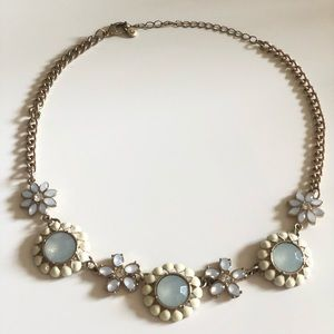 delicate statement necklace